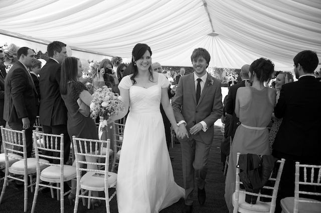 A marquee based wedding ceremony Essex