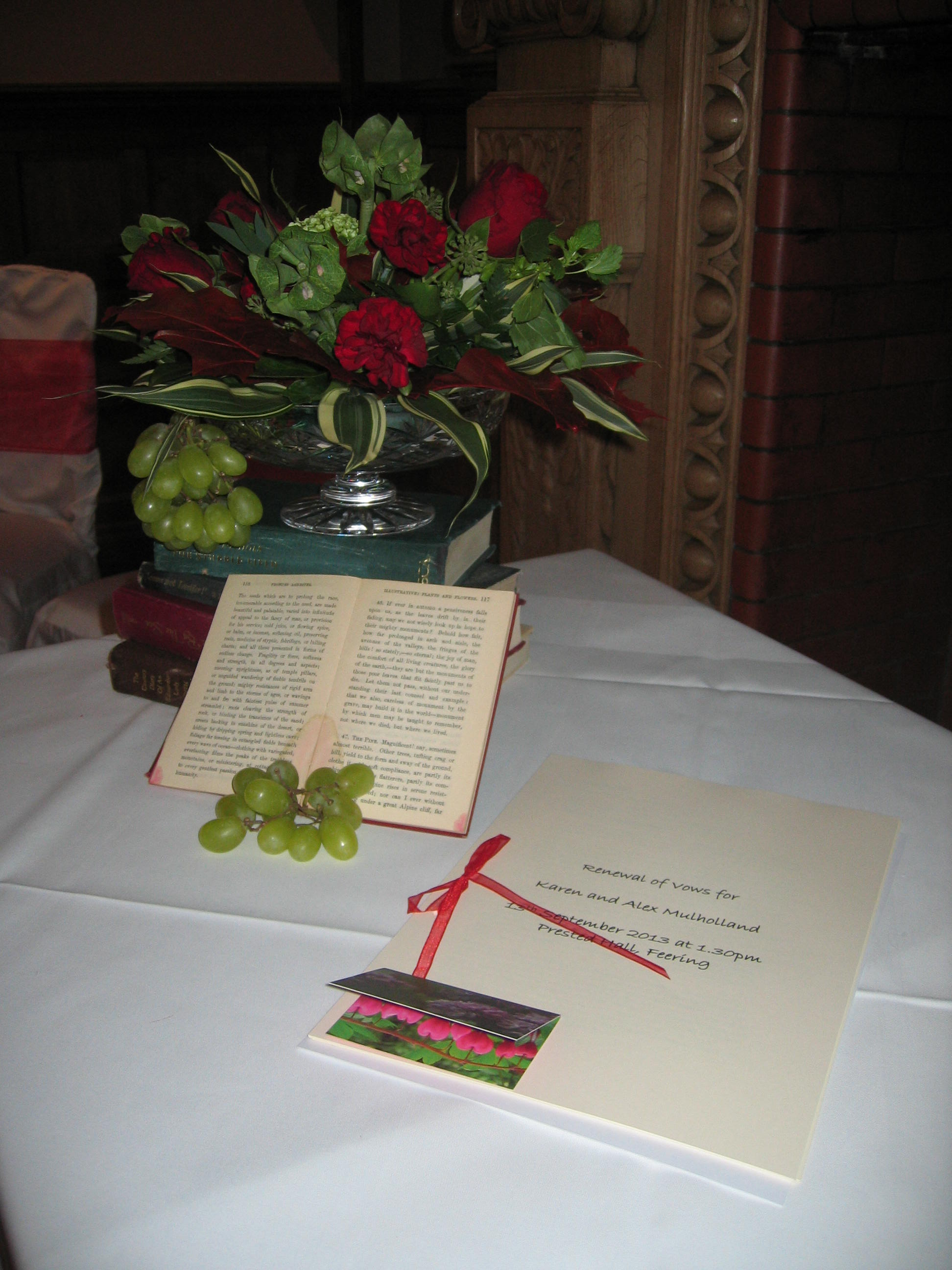 A Vow Renewal at Prested Hall